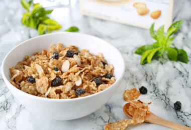 Muesli y otras alternativas de desayuno vegano