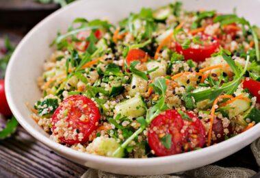 Prepara una deliciosa ensalada de quinoa