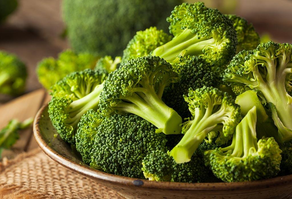 Beneficios de comer brócoli durante el embarazo