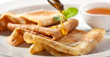 Receta de crepas sin gluten