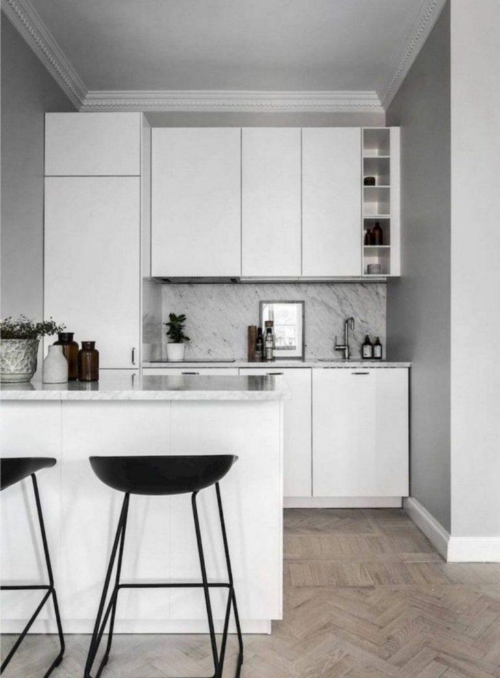 diseño minimalista cocinas