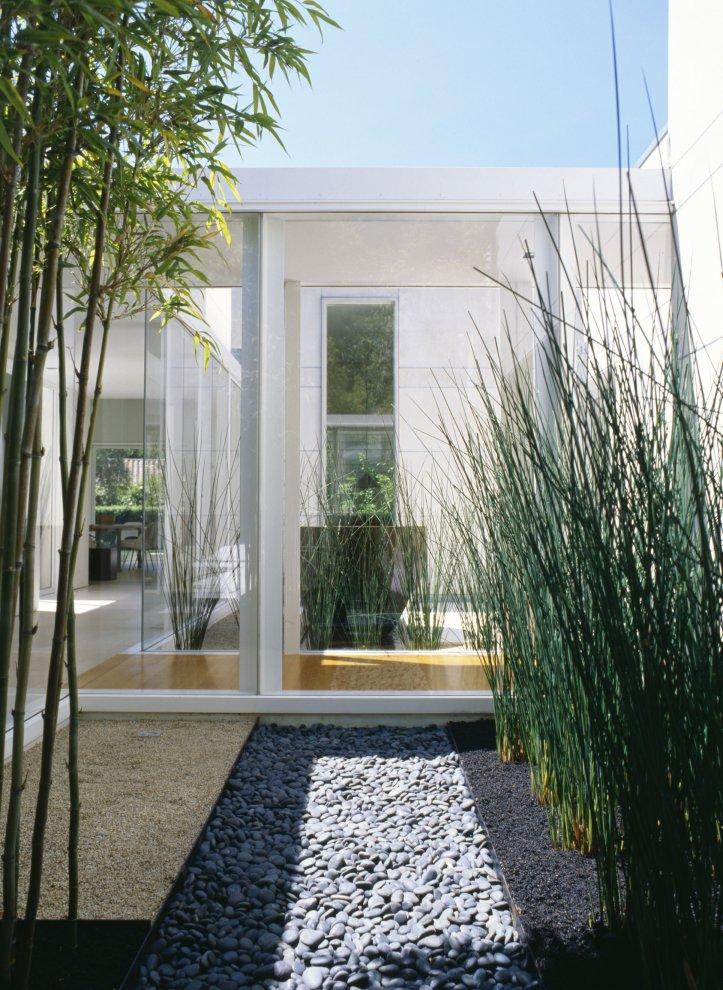 diseño minimalista jardínes