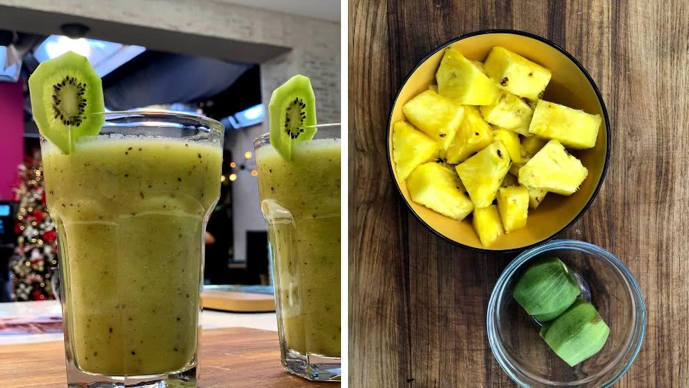 Bebidas naturales para el desayuno