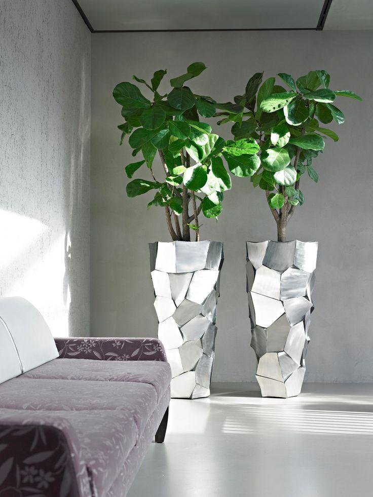 plantas para oficina macetas grandes