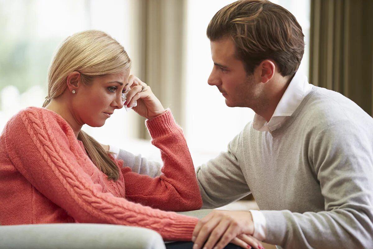 Tratando de interpretar las emociones de su pareja