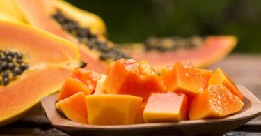 Papaya para eliminar los gases