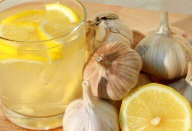 Remedio efectivo con ajo y limón para reducir la grasa del abdomen y bajar la barriga