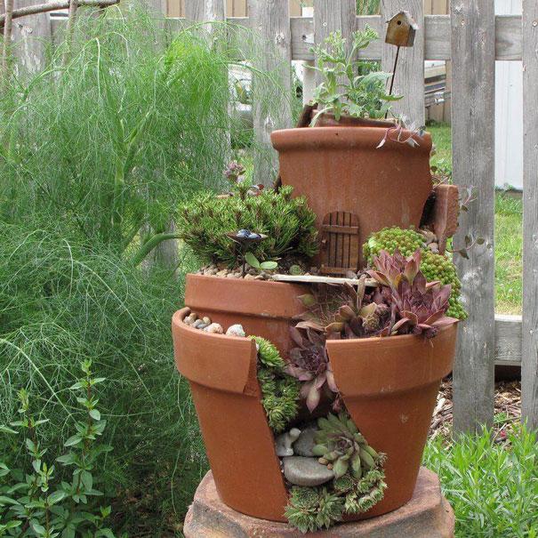 maceta de jardín