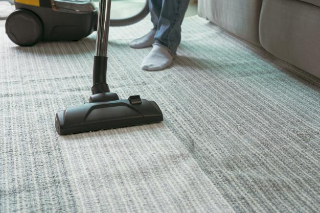 Suciedad en las alfombras
