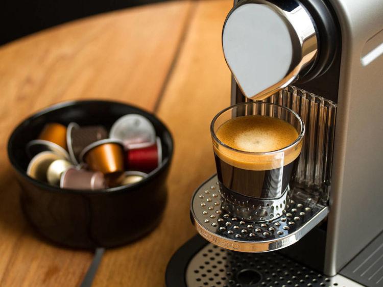 Máquina de café con cápsulas