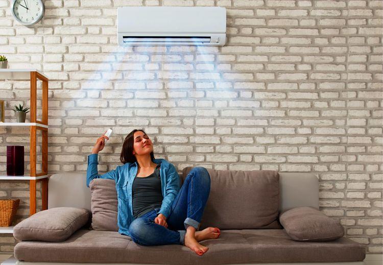 Uso de aire acondicionado y problemas de dolor de garganta