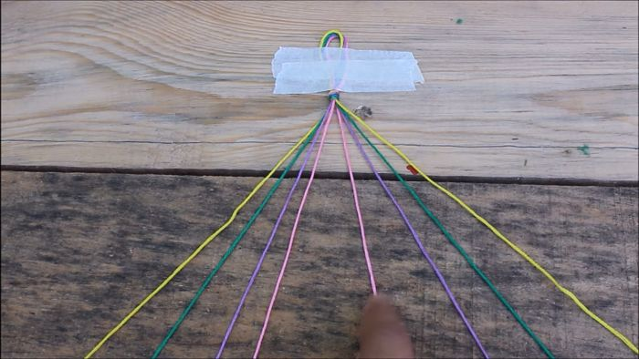 Cómo hacer pulseras con hilo encerado paso a paso 3