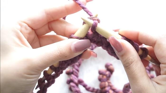 Mantas para bebés Cómo hacerlas tejiendo a dos agujas 6