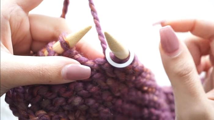 Mantas para bebés Cómo hacerlas tejiendo a dos agujas 14