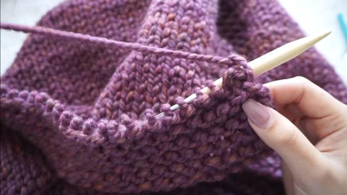 Mantas para bebés Cómo hacerlas tejiendo a dos agujas 17