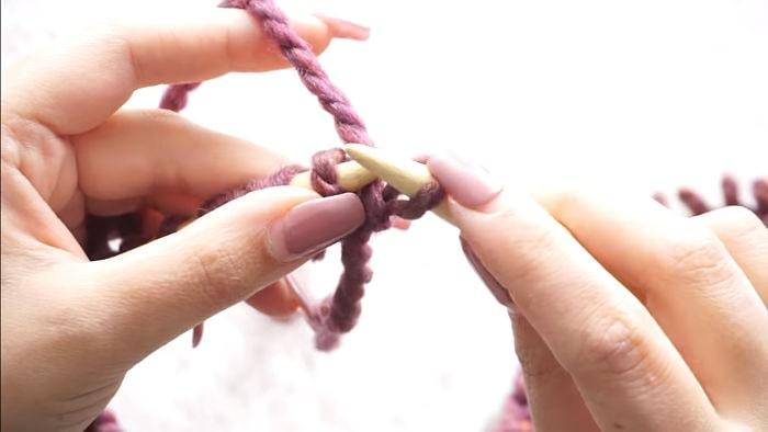 Mantas para bebés Cómo hacerlas tejiendo a dos agujas 5